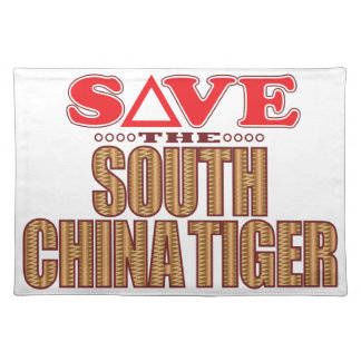 South China Tiger Save Placemat