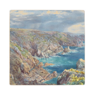 South Coast of Guernsey from the Cribiere, 1862 (w Wood Coaster