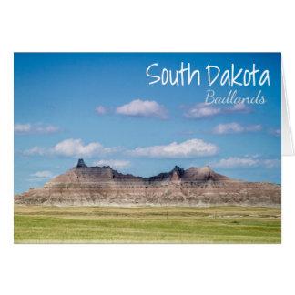 South Dakota Badlands Greeting Card