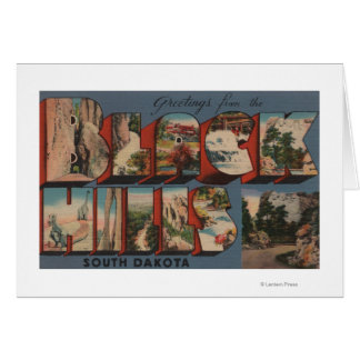 South Dakota - Black Hills - Mt. Rushmore Greeting Card