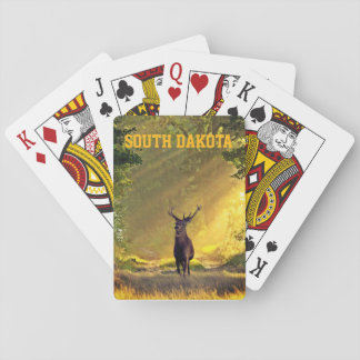 South Dakota Buck Deer Playing Cards
