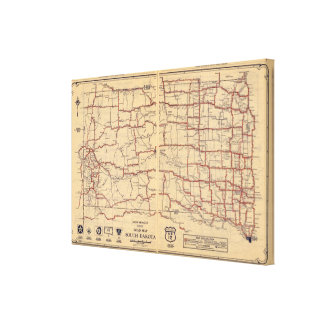 South Dakota Canvas Print