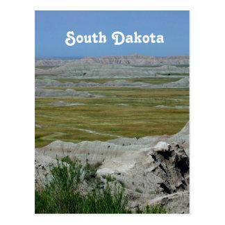 South Dakota Country Landscape Postcard