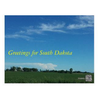 South Dakota Day Postcard