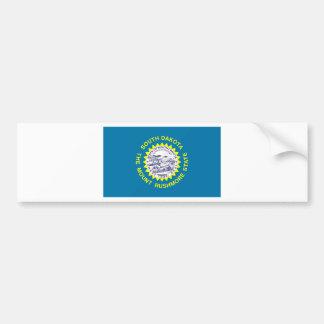 South Dakota Flag Bumper Sticker