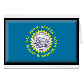 South Dakota Flag Cards