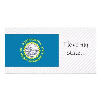 South Dakota Flag Card