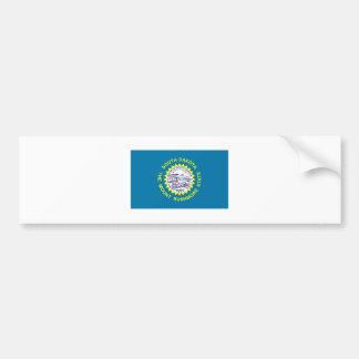 South Dakota FLAG International Bumper Sticker