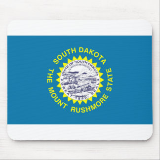 South Dakota flag Mouse Pad