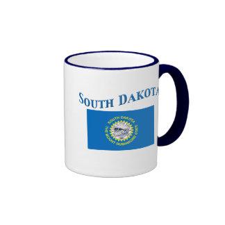 South Dakota Flag Coffee Mug