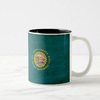 South Dakota Flag Mug