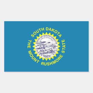 South Dakota Flag Rectangle Stickers