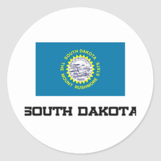 South Dakota Flag Stickers