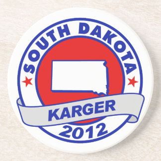 South Dakota Fred Karger Coasters