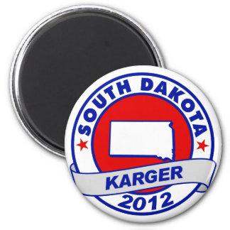 South Dakota Fred Karger Refrigerator Magnets
