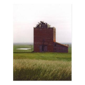 South Dakota Grain Elevator Postcard