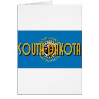 South Dakota Greeting Card