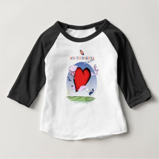 south dakota head heart, tony fernandes baby T-Shirt