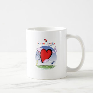 south dakota head heart, tony fernandes coffee mug