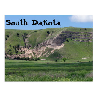 South Dakota Hills Postcard