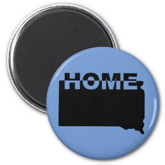 South Dakota Home Away From State Fridge Magnet