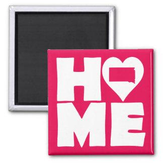 South Dakota Home Heart State Fridge Magnet