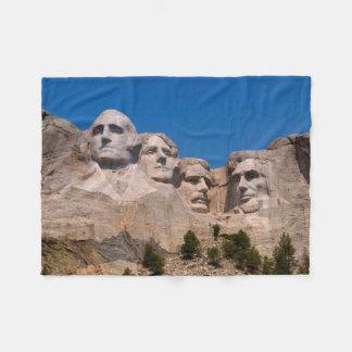 South Dakota, Keystone, Mount Rushmore Fleece Blanket