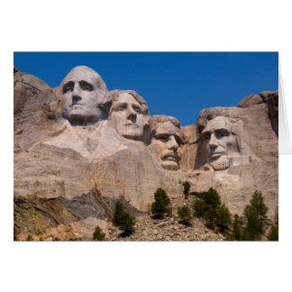South Dakota, Keystone, Mount Rushmore Greeting Card