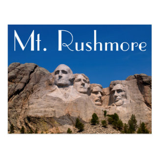 South Dakota, Keystone, Mount Rushmore Postcard