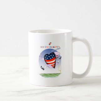 south dakota loud and proud, tony fernandes coffee mug