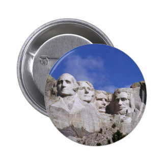 SOUTH DAKOTA - MOUNT RUSHMORE 6 CM ROUND BADGE