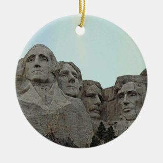South Dakota Mount Rushmore State Christmas Ornament