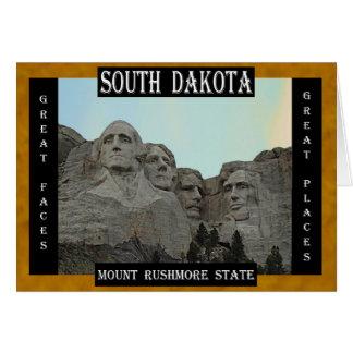 South Dakota Mount Rushmore State Greeting Card
