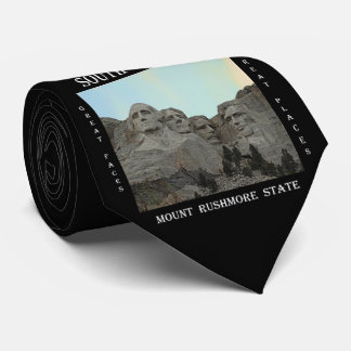 South Dakota Mount Rushmore State Tie