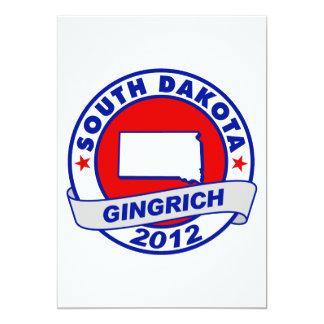 South Dakota Newt Gingrich Invitation