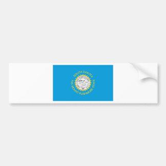 South Dakota  Official State Flag Bumper Sticker