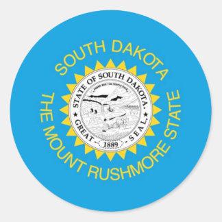 South Dakota  Official State Flag Sticker