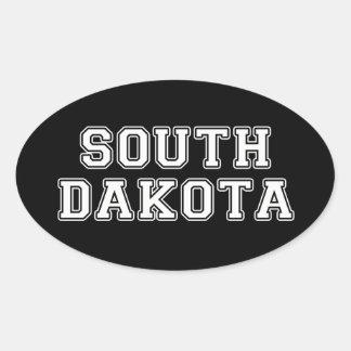 South Dakota Oval Sticker