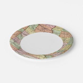 South Dakota Paper Plate