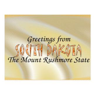 South Dakota Post Card