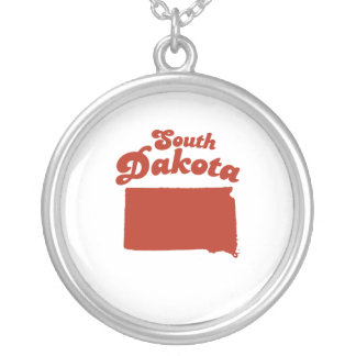 SOUTH DAKOTA Red State Custom Necklace