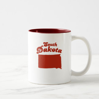 SOUTH DAKOTA Red State Two-Tone Mug