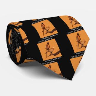 South Dakota Ring-neck Pheasant Tie