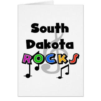 South Dakota Rocks Greeting Card