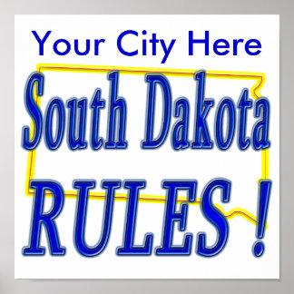 South Dakota Rules ! Posters