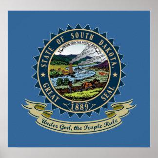 South Dakota Seal Poster