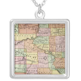 South Dakota Silver Plated Necklace