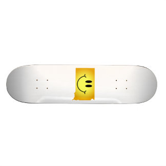 South Dakota Smiley Face Skate Board