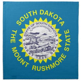 South Dakota State Flag American MoJo Napkin