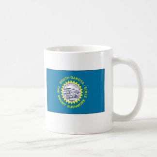 South Dakota State Flag Basic White Mug